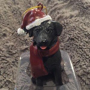 New Boxed Black Labrador Christmas OrnamentNWT for sale